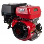 Двигатель бензиновый 4-х тактный 188F-S25GE (25.0мм, 13.0л.с., 389 куб.см., фильтр-картридж, датчик уровня масла, генерирующая катушка 80W, эле