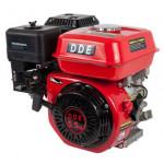 Двигатель бензиновый 4-х тактный 168F-S20 (20.0мм, 5.5л.с., 163 куб.см., фильтр-картридж, датчик уровня масла)