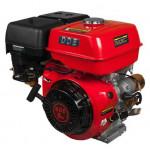 Двигатель бензиновый 4-х тактный 177F-S25E (25.0мм, 9.0л.с., 270 куб.см., фильтр-картридж, датчик уровня масла, электростартер 12V)
