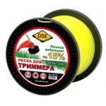 "Леска для триммера  Classic line"" (круг) 2,0 мм х 126м, желтый"