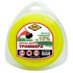 "Леска для триммера  Classic line"" (круг) 2,4 мм х 15 м, желтый"
