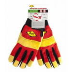 Перчатки DDE vibro-PROTECT  кожа /спандекс,  размер  X L