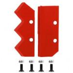 Нож сменный двухзаходного шнека для грунта DDE (200 мм) (пара)