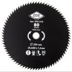 WOOD CUT 80 зубьев.255 х 25,4мм (толщина = 1,4 мм)