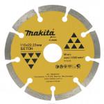 B-28086 Алмазный сигментированный диск, 115х22.23