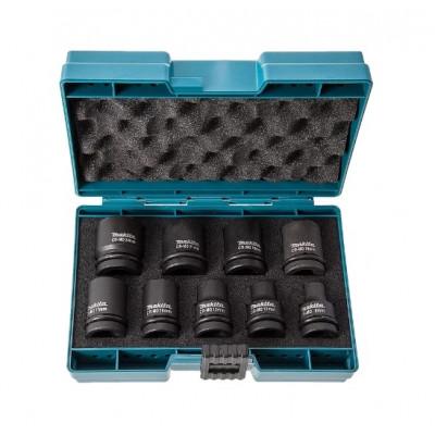 Набор торцевых ключей (головок) 8-24, квадр 1/2, Makita D-41517