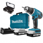 Аккумуляторный шуруповерт Makita DF457DWEX8 (DF 457 DWE X8)