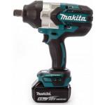 Аккумуляторный ударный гайковерт Makita DTW 1001 RTJ (DTW1001RTJ)