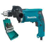 Дрель ударная Makita HP1630KX2 (HP 1630 KX2)