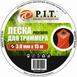 Леска для триммера 3,0*15м крученая DUAL-CUT P.I.T.(Р0313015)