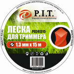 Леска для триммера (1,3мм х 15м.крученая) картон P.I.T.(Р0241315)