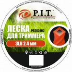 Леска для триммера 3LB (2,4,1.35кг, 2,4мм крученая 300м) бухта (Р0282403)
