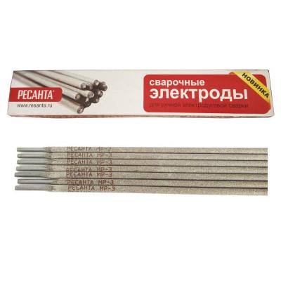 Сварочный электрод РЕСАНТА МР-3 Ф2.5 Пачка 1 кг