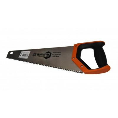 Ножовка по дереву ВИХРЬ 400 3D заточка