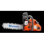 """Бензопила Husqvarna 440e II (1.8 кВт/2.4л.с., X-TORQ, облегчённый запуск, 15"""", 0.325"""", H30, Pixel, 1.3 мм)"""