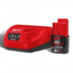 Комплект аккумулятор и зарядное устройство Milwaukee M12 NRG-201