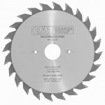 Пильный диск СМТ 125x20x2,8-3,6/ 12° FLAT Z=12+12