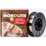 Проволока сварочная для полуавтомата омедненная 0.8мм (4кг) ТМ Электроды Монолит