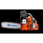 """Бензопила Husqvarna 450e II (2.4 кВт/3.2 л.с., X-TORQ, облегченный запуск, 15"""", 0.325"""", X-Cut SP33G, Pixel, 1.3 мм, X-Force)"""