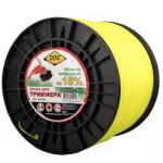 "Леска для триммера  Classic line"" (круг) 2,0 мм х 520м, желтый"