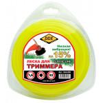 "Леска для триммера  Classic line"" (круг) 1,6 мм х 92 м, желтый"