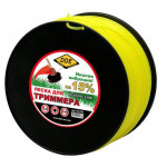 "Леска для триммера Classic line"" (круг) 2,4 мм х 259 м, желтый"