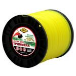 "Леска для триммера Classic line"" (круг) 2,4 мм х 432 м, желтый"