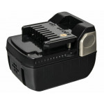 Аккумулятор для HITACHI ПРАКТИКА 14.4В, 3.0Ач,  Li-Ion, Слайдер, коробка